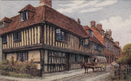 Rye - St Anthony - Wonderful Old Post Card  (Salmon Series) From An Original Water Color Drawing By A.R. Quinton - Rye