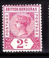 British Honduras, 1891, SG 52, Mint Hinged (Wmk Crown CA) - Honduras Britannique (...-1970)