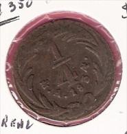 MEXICO 1/4 REAL 1834 KM358 - Mexique