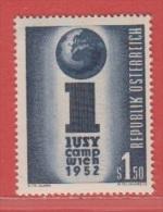 1952 ** (sans Charn., MNH, Postfrish)  Yv  814Mi  974ANK 990 - 1945-.... 2ème République