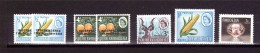 SOUTHERN RHODESIA 1964-65 Odd Value   Yvert Cat N°96-115-119-136-300 Absolutely Perfect MNH ** - Southern Rhodesia (...-1964)