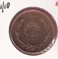 MEXICO 2 CENTAVOS 1941 KM419 - Mexique