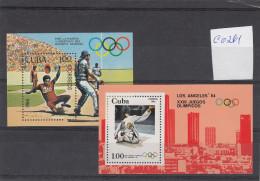 Cuba 1984. Olympic Games, MNH, C0261 - Summer 1984: Los Angeles