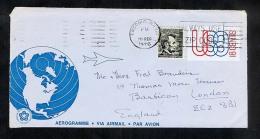 USA 1976 Postal Stationery Air Letter Aerogramme (W277) - Postal Stationery