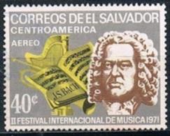 5738 - El Salvador 1971 - Musician - Salvador