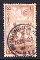 New Zealand 1940 Health Beach Ball 2d + 1d Used - 1907-1947 Dominion