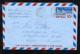 USA 1959 Postal Stationery Air Letter Aerogramme (W281) - Postal Stationery