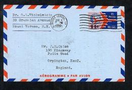 USA 1966 Postal Stationery Air Letter Aerogramme (W282) - Postal Stationery