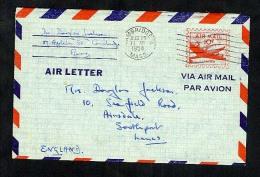 USA 1954 Postal Stationery Air Letter Aerogramme (W283) - Postal Stationery