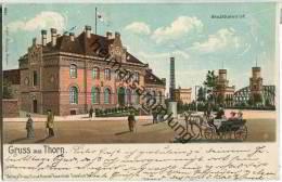 Thorn - Torun - Stadtbahnhof - Westpreussen