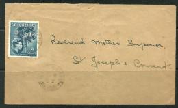 Le Seychelles Enveloppe Avec Joli Oblitération - Seychelles (1976-...)