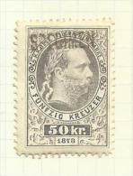 Autriche Télégraphe N°13(B) Côte 2.50 Euros - Télégraphe