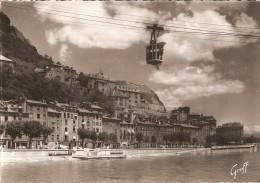 Téléphérique De La Bastille, à Grenoble (38)  - - Funiculares