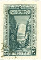 TURKEY  -  1926  Pictorial Definitives  21/2g  Used As Scan - Oblitérés