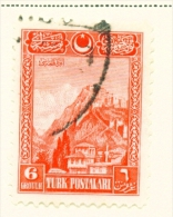TURKEY  -  1926  Pictorial Definitives  6g  Used As Scan - 1921-... Republic