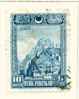 TURKEY  -  1926  Pictorial Definitives  10g  Used As Scan - 1921-... Republic