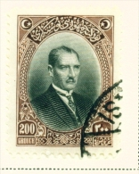 TURKEY  -  1926  Pictorial Definitives  100g  Used As Scan - 1921-... Republic