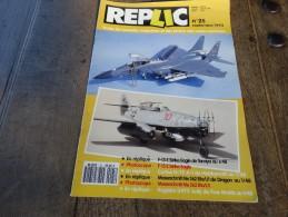 REPLIC N°25 Septembre 1993 - Literatuur & DVD