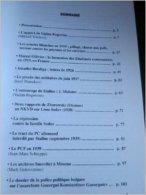 Cahiers Du Mouvement Ouvrier N°7. 1999 - Politique