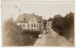 AK Pölitz FOTO-AK Einzelhaus 1926 Gel. - Alemania