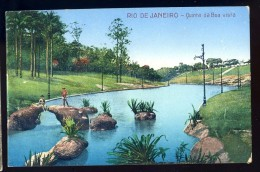 Cpa  Du Brésil Rio De Janeiro -- Quinta Da Boa Vista   JA15 22 - Rio De Janeiro