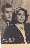 ALGER / PHOTO JEUNE COUPLE PIED NOIR - Alger