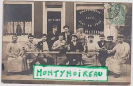 Hauts De Seine  : Café  PEINY , Tampon  Boulogne  Billancourt  ( Pionsat - Paris  , A  Vérifier  ) - Boulogne Billancourt