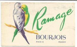 CHROMOS PARFUM RAMAGE DE BOURJOIS - Unclassified