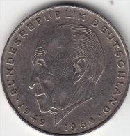 2 Mark Konrad Adenauer 1969 D Ss - [ 7] 1949-…: BRD
