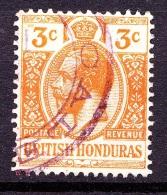 British Honduras, 1913, SG 103, Used, (Wmk Mult Crown CA) - British Honduras (...-1970)