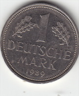 1 Mark  1989 D Ss - [ 7] 1949-…: BRD