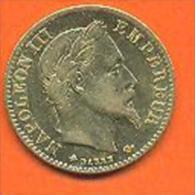 Monnaie De 10 Francs OR Napoleon 3 1865 A  -  Qualité - Voir 2 Scans - Or