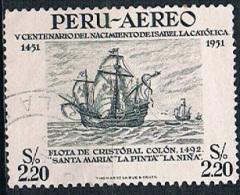 5821 - Peru 1951 - Ship - Peru