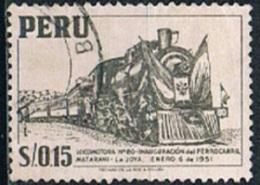 5822 - Peru 1951 - Train - Peru