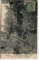 CPA 77 ENVIRONS DE LA FERTE SOUS JOUARRE LE RUISSEAU DE LA BECOTTE A SAMMERON 1920 - La Ferte Sous Jouarre