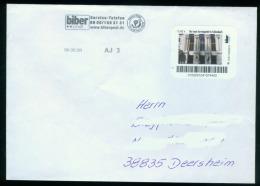 Biber Post, Brief Servicepukt Schönebeck 0,42 Glatt Langer UPOC (6.5.2009)  Bpb070 - [7] République Fédérale
