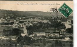 CPA 77  LA FERTE SOUS JOUARRE VUE GENERALE PRISE DE  LA DHUYS 1911 - La Ferte Sous Jouarre