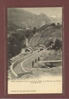 MOUTIERS (73) - CANAL D'AMENEE A CIEL OUVERT DE LA CHUTE DE LA SOCIETE LA VOLTA - EDITION 1900 - Moutiers