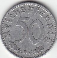 Drittes Reich 50 Reichspfennig 1935 D Ss - [ 4] 1933-1945: Drittes Reich