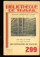 BT   Bibliothèque De Travail 299 Les Conserves De Viande - 6-12 Years Old