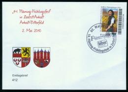 Biber Post, FDC Mi 142 14. Fläming-Frühlingsfest 0,45 Glatt Langer UPOC Bpb072a - [7] République Fédérale