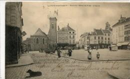 CPA 77  LA FERTE SOUS JOUARRE PLACE DE L HOTEL DE VILLE L EGLISE 1903 - La Ferte Sous Jouarre