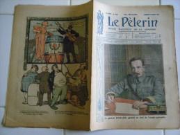 LE PELERIN 23/03/1919-GAL HALLER Chef Armée Polonaise-LA POLOGNE-L'AEROCHIR-L'AFFAIRE COTTIN-ASSASSINAT FAMILLE RUSSIE - Journaux - Quotidiens