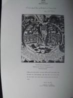Planche MEMORIAL DES ALLIES 1914-1918. Bernard Naudin. 1926.  (Signataire Américain )  Robert E. COONTZ. Admiral US NAVY - Manuscripts