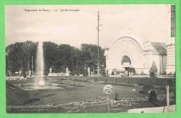 Exposition De Nancy 17 Jardin Français - Nancy