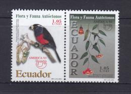 Ecuador 2003 UPAEP, Fauna And Flora, Bird MNH - Birds