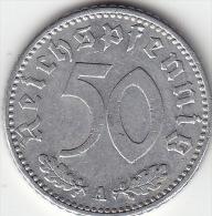 Drittes Reich 50 Reichspfennig 1941 A Ss - [ 4] 1933-1945: Drittes Reich