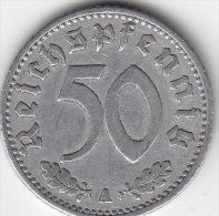 Drittes Reich 50 Reichspfennig 1940 A Ss - [ 4] 1933-1945: Drittes Reich
