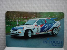 Intouch Auto Rally (Mint ,Neuve) Very Rare See 2 Scans  Rare - België