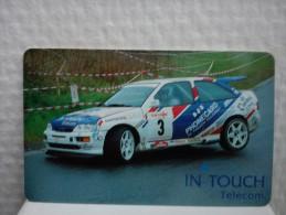 Intouch Auto Rally (Mint ,Neuve) Very Rare See 2 Scans  Rare - Cartes GSM, Recharges & Prépayées